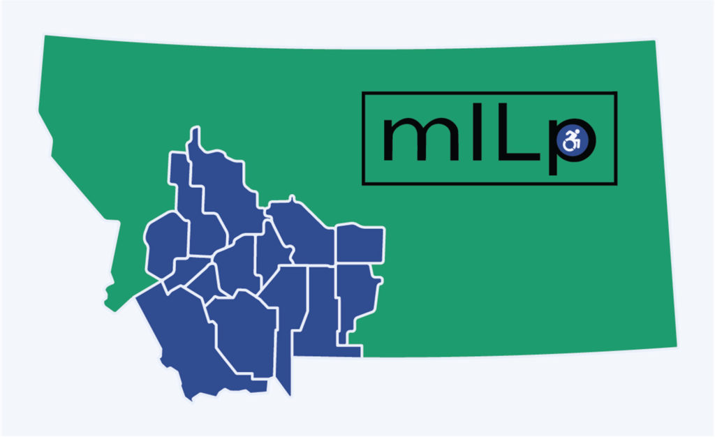 Counties served by mILp